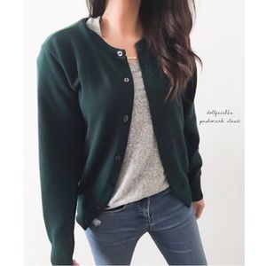 Dark Green Vintage Sweater